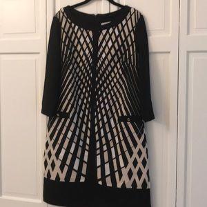 NY & Co. 3/4 sleeved midi dress size M